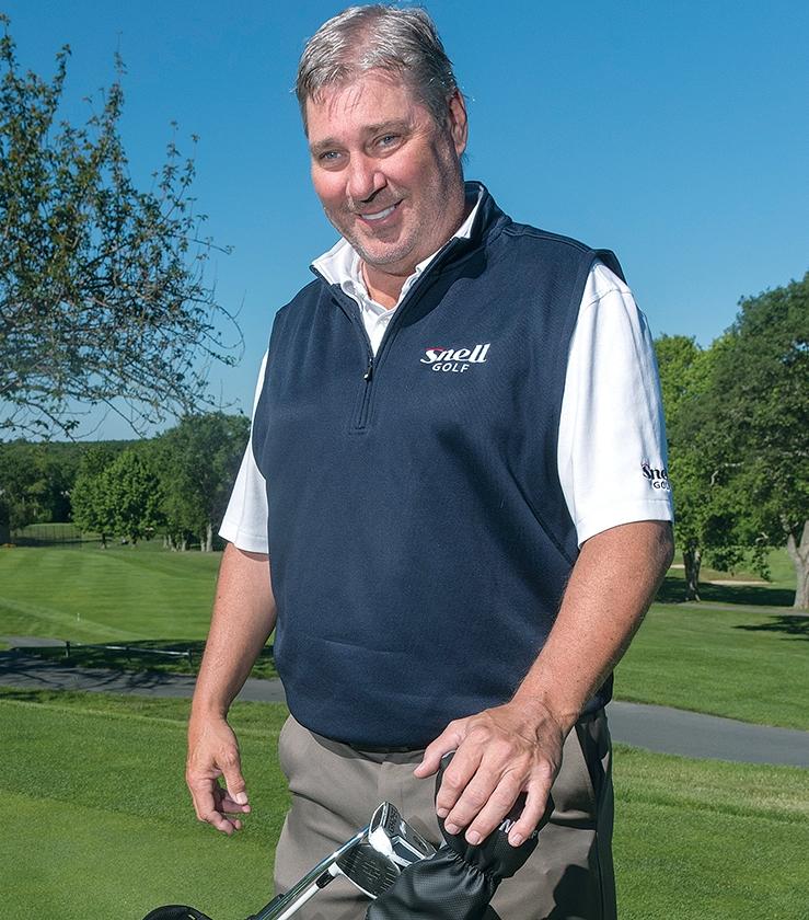 Dean Snell Founder von snell Golf