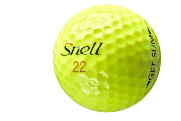 GET SUm 2 poece Golfball von Snell Golf