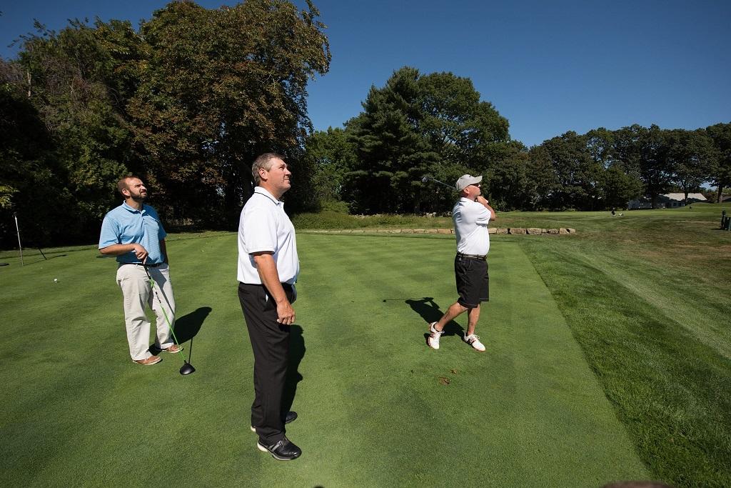 Golfball Test mit Dean Snell